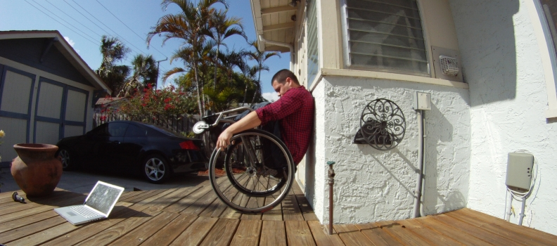 The Wheelchair Wheelie (part 2 of 3)