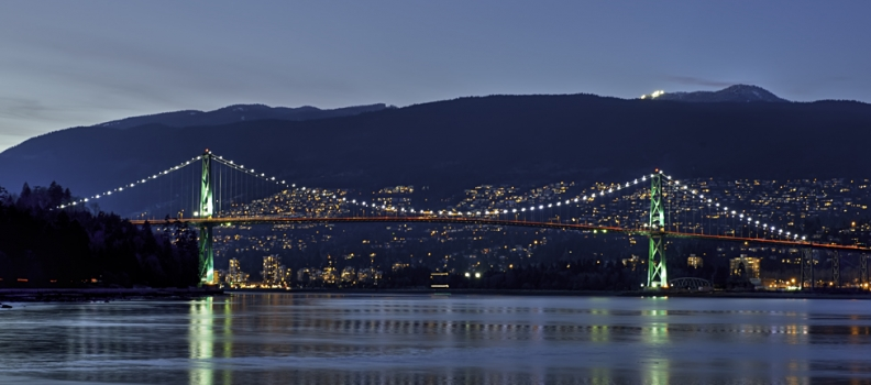 Lion's Gate Bridge in Vancouver is In Fact a Wheelchair Accessible Playground…