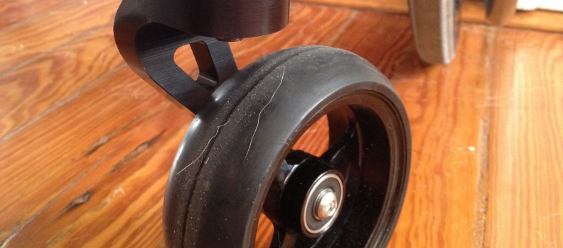 Review: Frog Legs Uni-Tine Front Fork for Manual Wheelchairs