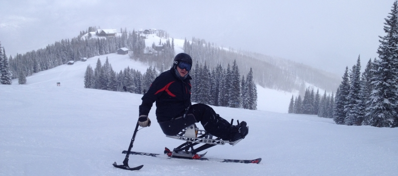 Adaptive Wheelchair Sports: Sit-Ski (Mono-Ski) in Aspen, CO